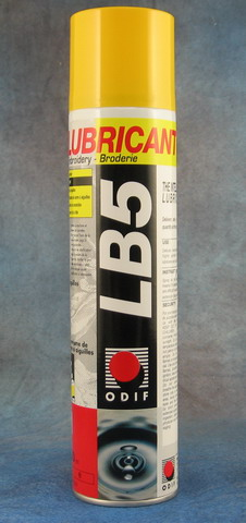 Odif Lb5 Embroidery Mahine Spray Lubricant 10 Oz Can