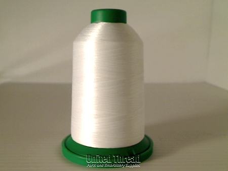 Isacord Embroidery Thread, 5000M, 40W Polyester Thread, 0017 Bright White