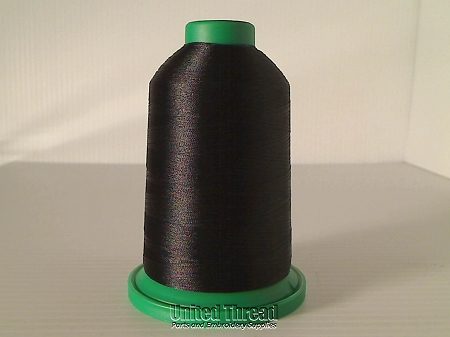 Isacord Embroidery Thread, 5000M, 40W Polyester Thread, 0020..Black