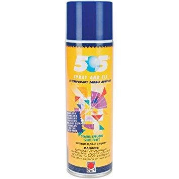 Odif 505 - Spray and Fix, Temporary Adhesive, Large Can, 10.93oz