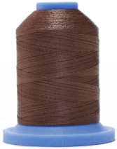 Robison Anton Super Brite Polyester #122 Embroidery Thread, 5000M Cone, Color 9156, SONESTA BRWN
