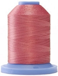 Robison Anton Super Brite Polyester #122 Embroidery Thread, 5000M Cone, Color 9077, COMFORT PINK