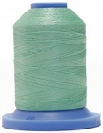 Robison Anton Super Brite Polyester #122 Embroidery Thread, 5000M Cone, Color 9106, TEALEAF