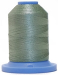 Robison Anton Super Brite Polyester #122 Embroidery Thread, 5000M Cone, Color 9107, KIWI GREEN