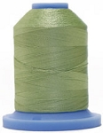 Robison Anton Super Brite Polyester #122 Embroidery Thread, 5000M Cone, Color 9108, ENVY GREEN