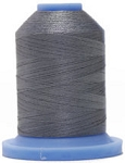 Robison Anton Super Brite Polyester #122 Embroidery Thread, 5000M Cone, Color 9110, BELLAIRE GRY