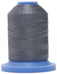 Robison Anton Super Brite Polyester #122 Embroidery Thread, 5000M Cone, Color 9112, DELANO GREY