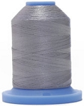 Robison Anton Super Brite Polyester #122 Embroidery Thread, 5000M Cone, Color 9114, FAIRVIEW GRY