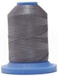Robison Anton Super Brite Polyester #122 Embroidery Thread, 5000M Cone, Color 9117, GREY FLANNEL
