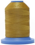 Robison Anton Super Brite Polyester #122 Embroidery Thread, 5000M Cone, Color 9124, CHEVIOT GOLD