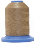 Robison Anton Super Brite Polyester #122 Embroidery Thread, 5000M Cone, Color 9125, RICE PAPER