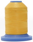 Robison Anton Super Brite Polyester #122 Embroidery Thread, 5000M Cone, Color 9127, HAVANA YELLW