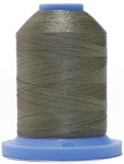 Robison Anton Super Brite Polyester #122 Embroidery Thread, 5000M Cone, Color 9129, MARS GREEN