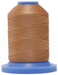 Robison Anton Super Brite Polyester #122 Embroidery Thread, 5000M Cone, Color 9131, TERRY TAN