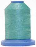 Robison Anton Super Brite Polyester #122 Embroidery Thread, 5000M Cone, Color 9141, SEA GLASS