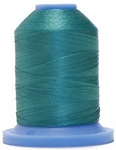 Robison Anton Super Brite Polyester #122 Embroidery Thread, 5000M Cone, Color 9142, INNR SANCTUM