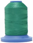 Robison Anton Super Brite Polyester #122 Embroidery Thread, 5000M Cone, Color 9144, CONE FOREST