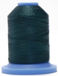 Robison Anton Super Brite Polyester #122 Embroidery Thread, 5000M Cone, Color 9146, TEAL APPEAL