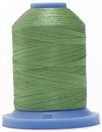 Robison Anton Super Brite Polyester #122 Embroidery Thread, 5000M Cone, Color 9147, EVENTIDE GRN
