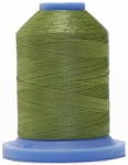 Robison Anton Super Brite Polyester #122 Embroidery Thread, 5000M Cone, Color 9150, MOSSTONE