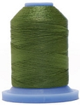 Robison Anton Super Brite Polyester #122 Embroidery Thread, 5000M Cone, Color 9152, BONAIRE GRN