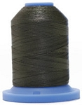 Robison Anton Super Brite Polyester #122 Embroidery Thread, 5000M Cone, Color 9155, CASTLWLK GRN