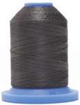 Robison Anton Super Brite Polyester #122 Embroidery Thread, 5000M Cone, Color 9158, GREY WOOL