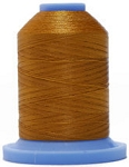 Robison Anton Super Brite Polyester #122 Embroidery Thread, 5000M Cone, Color 9165, TEMPLE GOLD