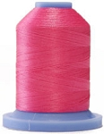 Robison Anton Super Brite Polyester #122 Embroidery Thread, 5000M Cone, Color 9168, HORIZON PINK