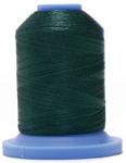 Robison Anton Super Brite Polyester #122 Embroidery Thread, 5000M Cone, Color 9169, LATEX GREEN