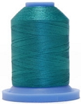 Robison Anton Super Brite Polyester #122 Embroidery Thread, 5000M Cone, Color 9173, SEA WATER