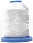 Robison Anton Super Brite Polyester #122 Embroidery Thread, 5000M Cone, Color 9174, ULTR BRT WHT