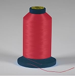 Robison Anton Rayon #122 Embroidery Thread, 5000M Cone, Color 2263, FOXY RED