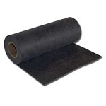 H&V Stitch Backers, 9925BL, 2.5Oz BLACK Premium Cut Away Backing, 19