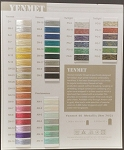 Yenmet | Metallic Thread | Color Card - Download Only
