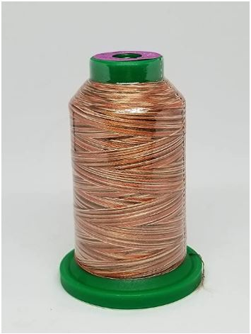 Isacord Variegated Embroidery Thread  | 9302 Bark | 1000M Spool