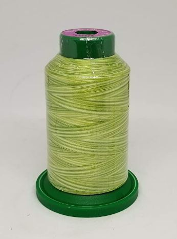 Isacord Variegated Embroidery Thread  | 9868 Limeade | 1000M Spool