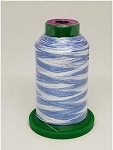 Isacord Variegated Embroidery Thread  | 9603 The Blues | 1000M Spool