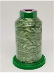 Isacord Variegated Embroidery Thread  | 9805 Shades of Grass | 1000M Spool