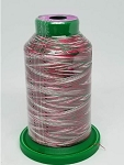 Isacord Variegated Embroidery Thread  | 9864 Holly Berry | 1000M Spool
