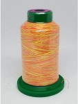 Isacord Variegated Embroidery Thread  | 9914 Neon Brights | 1000M Spool