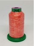 Isacord Variegated Embroidery Thread  | 9924 Atomic Orange | 1000M Spool