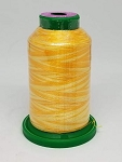 Isacord Variegated Embroidery Thread  | 9925 Saffron | 1000M Spool