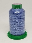 Isacord Variegated Embroidery Thread  | 9929 Nautical Blue | 1000M Spool