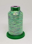 Isacord Variegated Embroidery Thread  | 9971 Emerald City | 1000M Spool