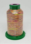 Isacord Variegated Embroidery Thread  | 9981 Glowing Brights | 1000M Spool
