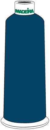 Madeira Classic Rayon #40 - 5500YD/CN - Color 1476 - Independence Blue
