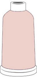 Madeira Classic Rayon #40 - 1100YD Mini Snap Cones - Color - 1013 - Peach Blush