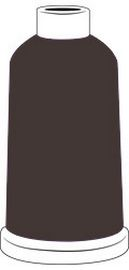 Madeira Classic Rayon #40 - 1100YD Mini Snap Cones - Color - 1059 - Dark Chocolate
