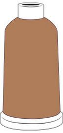 Madeira Classic Rayon #40 - 1100YD Mini Snap Cones - Color - 1126 - Light Brown Sugar